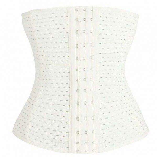 Breathable Waist Cincher White