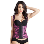 Pink Leopard Print Waist Trainer Vest