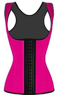 Pink Waist Cincher Vest